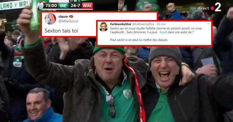 Sexton divise, comment Irlande - Pays de Galles a-t-il été vécu sur les réseaux sociaux ?