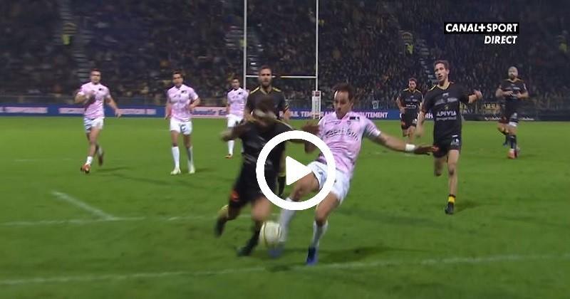 D'un tacle inspiré, Sanchez sauve la patrie et le Stade Français bat La Rochelle [VIDÉO]