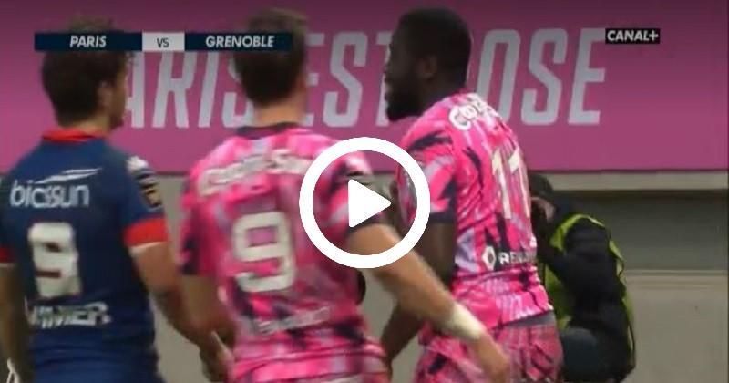 La balle de match au bout du pied de Germain face au Stade Français [VIDÉO]