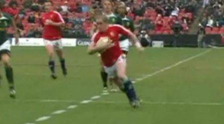 VIDEO. Shane Williams va rejouer avec les Lions Britanniques !