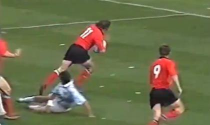 FLASHBACK. Shane Williams casse des reins et marque un hat trick contre l'Argentine
