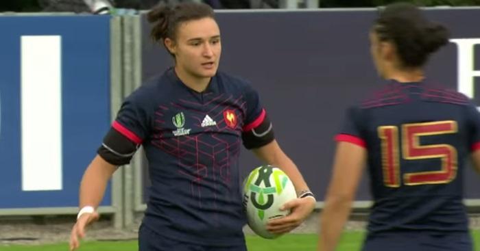 RÉSUMÉ VIDÉO. Coupe du Monde : Shannon Izar et les Bleues roulent sur l'Australie (48-0)