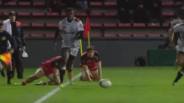 VIDEO. Wandile Mjekevu et les Sharks jouent un mauvais tour au Stade Toulousain