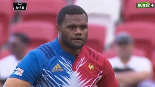 VIDÉO. Singapour 7s. La France passe au travers en 1/4 de finale contre le Kenya