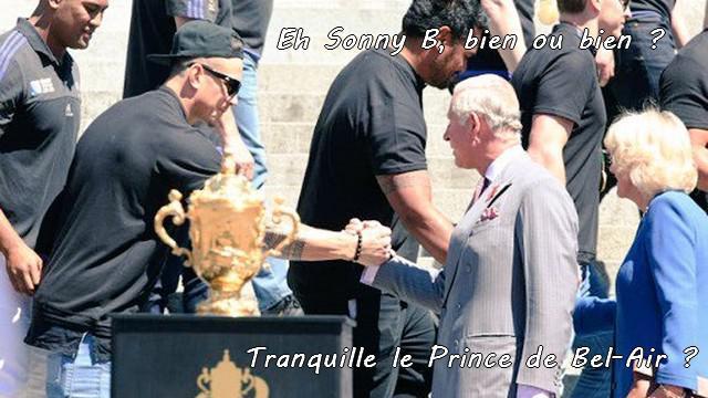VIDEO. INSOLITE. Charles en mode Prince de Bel-Air avec les All Blacks à Wellington