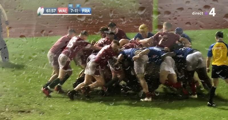 6 Nations U20 - Sous le déluge gallois, la France laisse échapper la victoire [RÉSUMÉ VIDÉO]