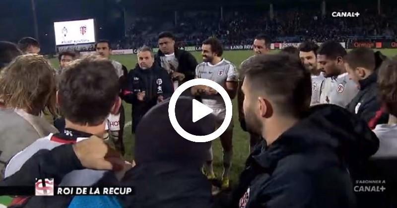 Le jeu au pied très bien senti par Médard pour la victoire de Toulouse à Agen [VIDÉO]