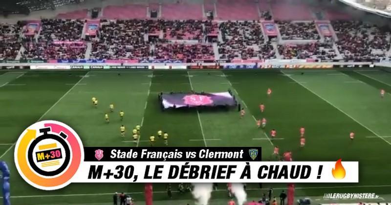 Top 14 - 23e journée. Stade Français vs Clermont. Le M+30 du Rugbynistère