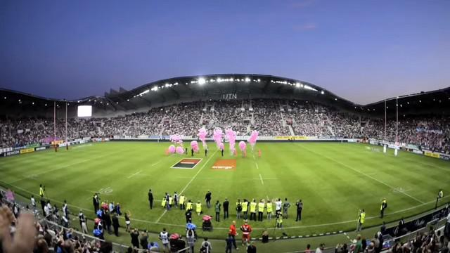Champions cup le match de coupe d 39 europe entre le stade fran ais et le munster est report - Stade francais porte de saint cloud ...