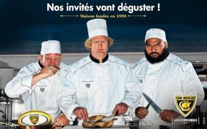 Le Stade Rochelais crée la polémique avec sa campagne de pub