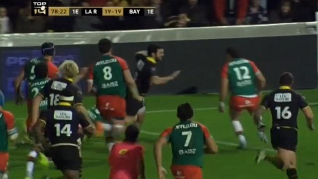 VIDEO. Top 14 - Le Stade Rochelais et Kevin Gourdon ratent la victoire pour dix centimètres