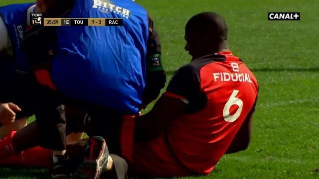 Top 14. Stade Toulousain : Yacouba Camara forfait jusqu'à la fin de saison