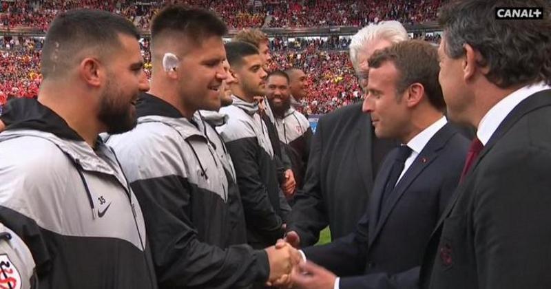 Stade Toulousain : Maks Van Dyk raconte sa demande de nationalité française à Emmanuel Macron
