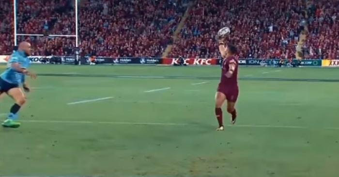 VIDEO. State of Origin - Valentine Holmes jongle avec le ballon et donne la victoire au Queensland