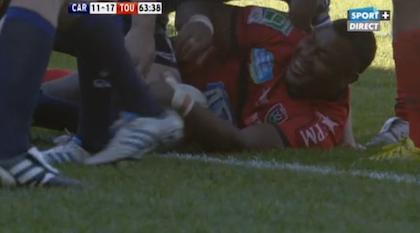 Encore un essai de Steffon Armitage, et Toulon l'emporte à Cardiff