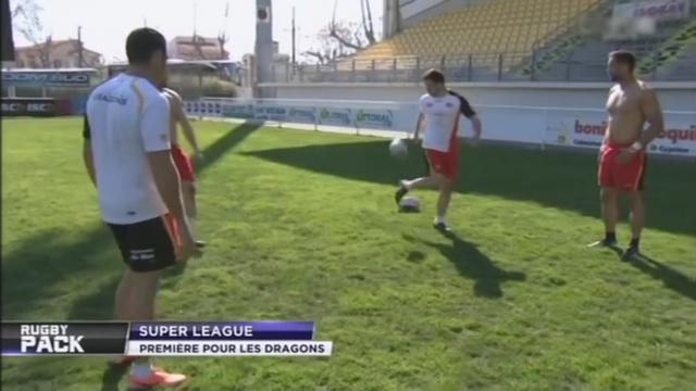 VIDEO. Super League - Les Dragons Catalans évacuent la pression avec une belle séance de jongles