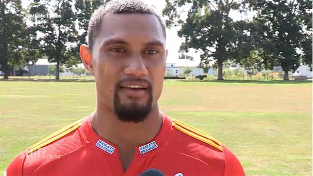 VIDEO. Super Rugby - Le puissant centre des Chiefs Robbie Fruean fait son retour après trois opérations du coeur
