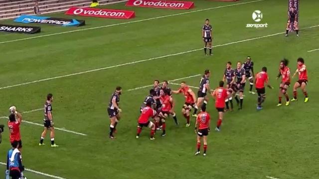VIDEO. Super Rugby : la combinaison en touche d'école des Sunwolves pour l'essai face aux Sharks