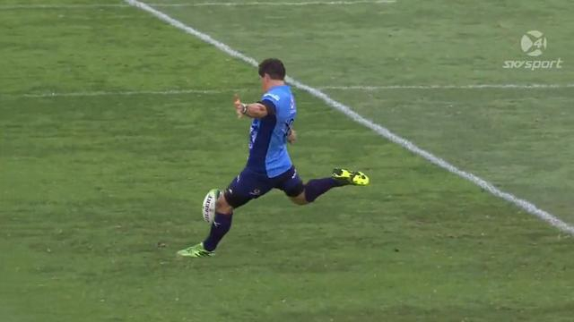 VIDEO. Super Rugby. Jacques-Louis Potgieter passe un drop de 50m sans même forcer
