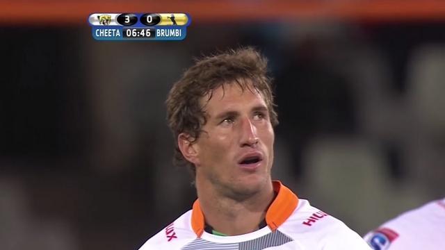 VIDEO. Super Rugby - Johan Goosen s'offre un énorme match avec un drop massif de 55m plein d'effet