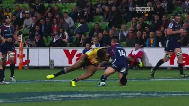 VIDEO. Super Rugby - Julian Savea et Beauden Barrett punissent les Rebels chacun à leur manière