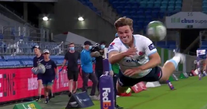 Super Rugby. La nouvelle règle des 50-22 pousse aux gestes spectaculaires [VIDÉO]