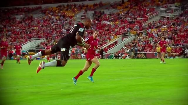 VIDEO. Super Rugby - La superbe année du surpuissant Fidjien volant Nemani Nadolo avec les Crusaders