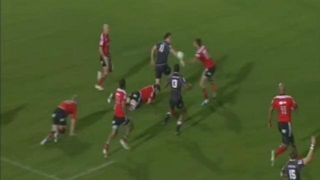 VIDEO. Super Rugby - La victoire historique des Sharks sur les Crusaders grâce aux festivals de Steyn et de Reinach