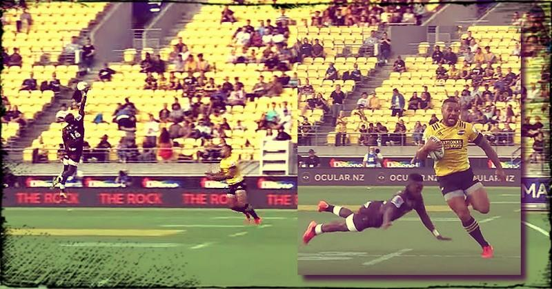 Super Rugby - Laumape conclut avec style une action spectaculaire des Hurricanes [VIDÉO]