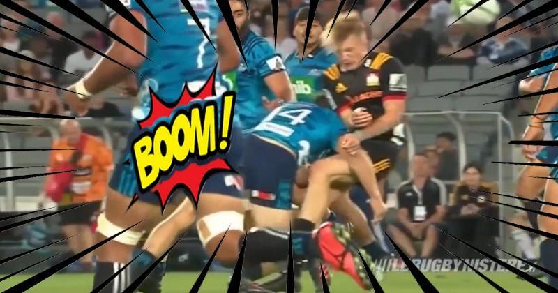 VIDEO. Super Rugby. L'énorme arrêt buffet de Duffie sur McKenzie