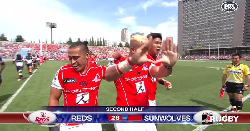 VIDÉO. Super Rugby. Les Sunwolves humilient les Reds, les Waratahs se trouent en beauté
