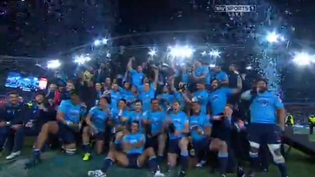 VIDEO. Super Rugby. Les Waratahs remportent leur premier titre sur le fil face aux Crusaders