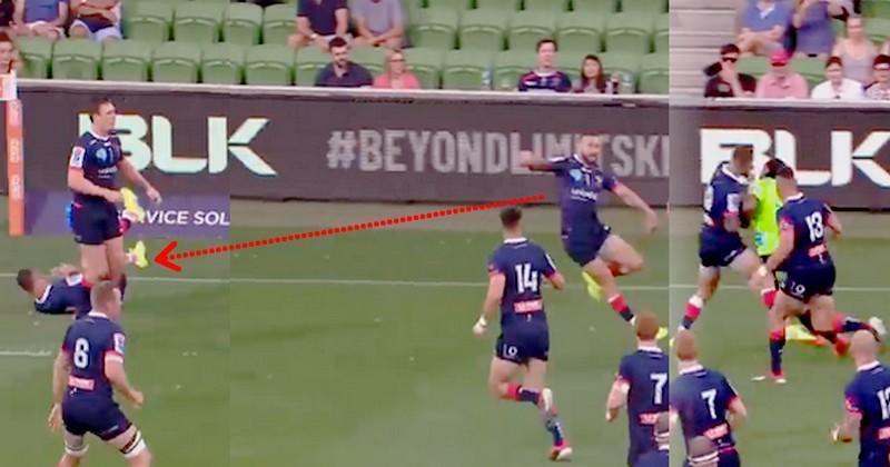 Super Rugby - Naholo a renvoyé Quade Cooper à Toulon avec une solide percussion