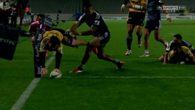VIDEO. Super Rugby. Nehe Milner-Skudder s'envole façon NRL derrière un très bel offload