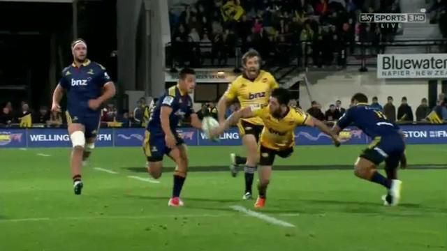 VIDEO. Super Rugby. Nehe Milner-Skudder et James Marshall trop faciles face aux Highlanders