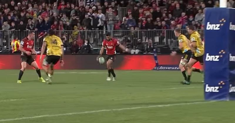 VIDÉO. Super Rugby : Richie Mo'unga récite sa partition et emmène les Crusaders en finale