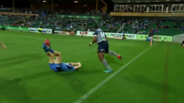 VIDEO. Super Rugby. Taqele Naiyaravoro active le mode Lomu et marche sur la Western Force