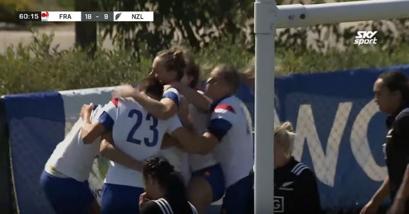 Super Series - Le XV de France féminin double la mise face aux Black Ferns [VIDEO]