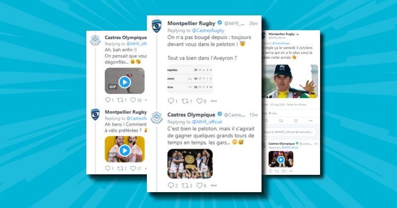 WTF - Sur fond de Tour de France, le MHR et le CO lancent les hostilités sur Twitter