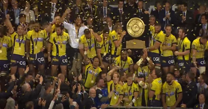 Top 14. C'était un 4 juin : Il y a quatre ans Clermont devenait champion en battant Toulon