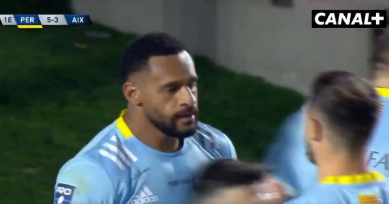 VIDÉO. Pro D2. L'USAP pulvérise Provence Rugby avec un Tilsley en feu