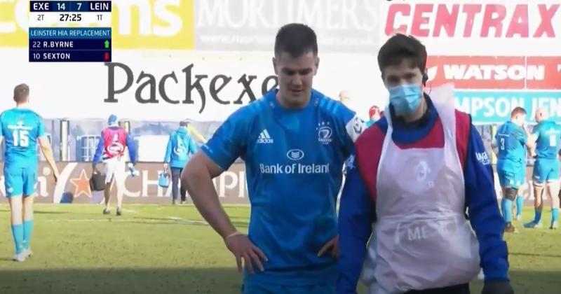 Champions Cup. Et pendant ce temps, Sexton victime d'une nouvelle commotion contre Exeter