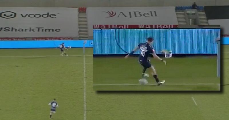 Sam James nous gratifie d'un geste technique à faire pâlir les footballeurs [VIDEO]