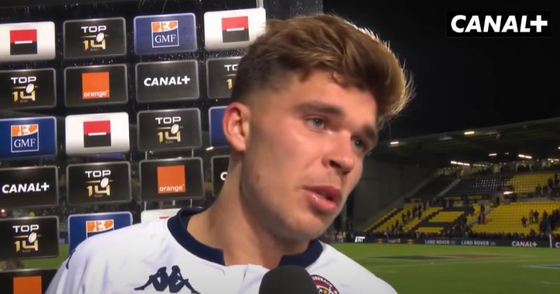 Top 14. ''Homme du match'', ''juste énorme'', Matthieu Jalibert enflamme la toile après UBB-Paris