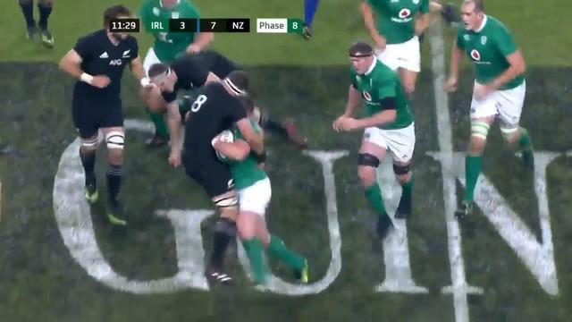 VIDÉO. Tadgh Furlong pose Franks, Read et Retallick sur le cul mais ça ne suffit pas face aux All Blacks