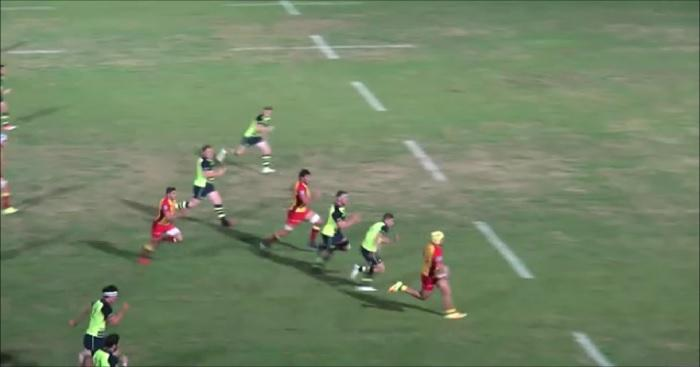 VIDEO. Insolite - USAP : un talonneur de 18 ans traverse le terrain contre le Leinster en amical