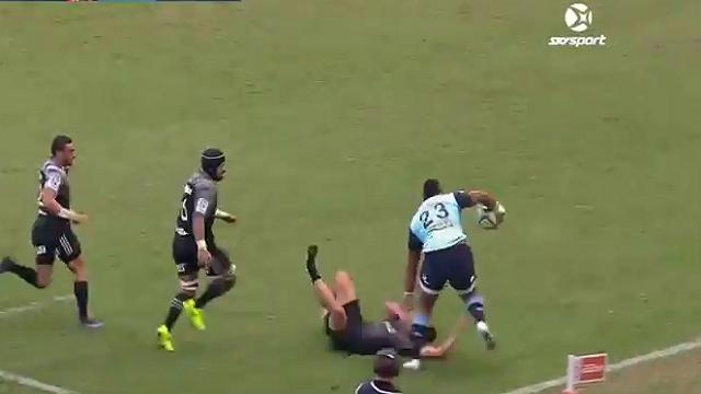 VIDEO. Super Rugby : Taqele Naiyaravoro nous offre une percussion de l'espace contre les Crusaders
