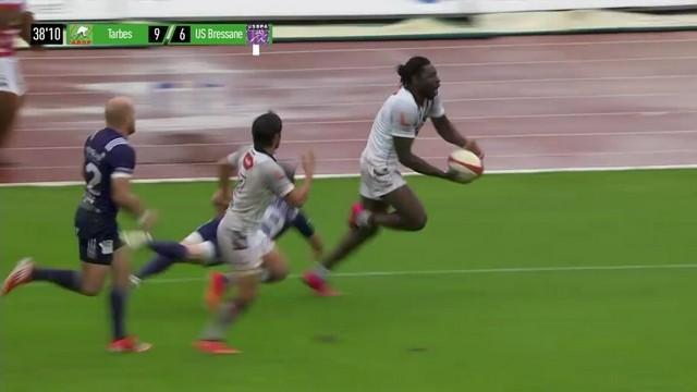 RESUME VIDEO. Fédérale 1 Elite - Tarbes embourbe Bourg-en-Bresse