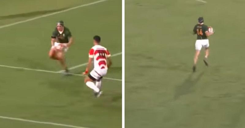 Tchik Tchak, interception, doublé face au Japon : Cheslin Kolbe est prêt pour le Mondial ! [VIDEO]