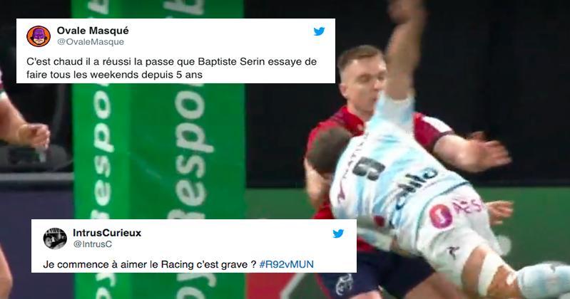 Comment les réseaux sociaux ont réagi au match Racing 92 vs Munster ?